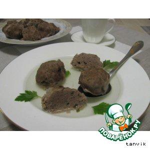 Рецепт Печеночные кнедлики в бульоне