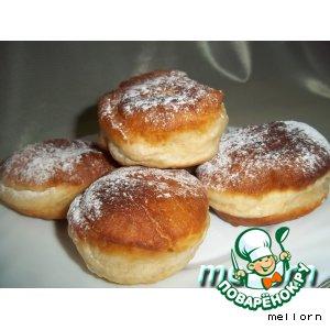 Рецепт Карамельные пончики