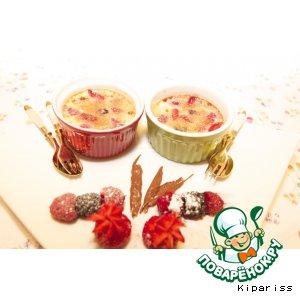 Рецепт Крем-брюле с ягодами