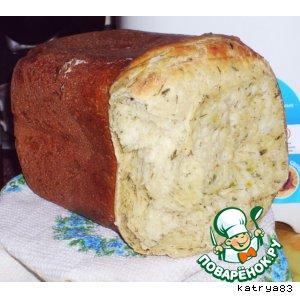 Рецепт Хлеб с травами и зеленью