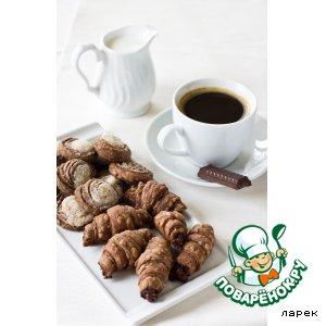 Рецепт Шоколадное слоеное тесто