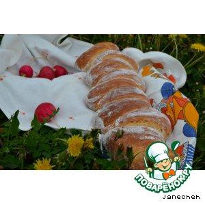 Рецепт Хлеб с имбирем и соевым соусом