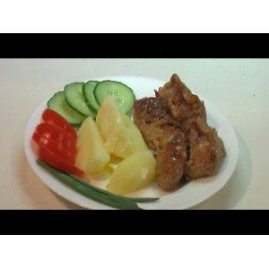 Рецепт Мясные колбаски с начинкой из лисичек