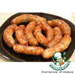 """Рецепт Домашние колбаски: """"Из Чернигова с любовью"""" от моей бабули"""