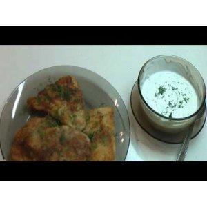 Рецепт Филе пангасиуса в сухарях с белым соусом