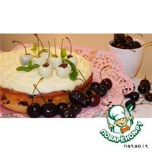 Рецепт Вишнeво-черешневый пирог