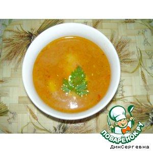 Рецепт Острый суп по-деревенски
