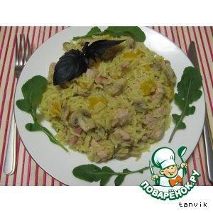 Рагу овощное с индейкой рецепт
