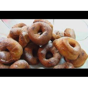 Пончики ванильные - кулинарный рецепт