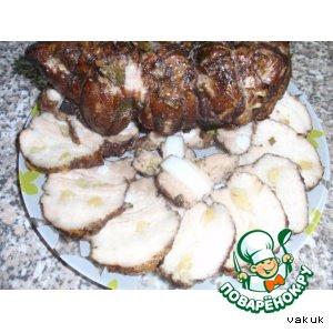 Свиная копчeная грудинка вкусный рецепт с фото как готовить