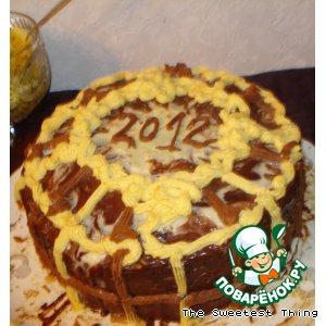 Рецепт Очень вкусный шоколадный торт