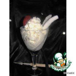 Рецепт Несладкое кокосовое мороженое