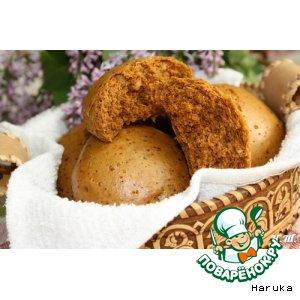 Рецепт Медовые пряники с грецкими орехами на пару