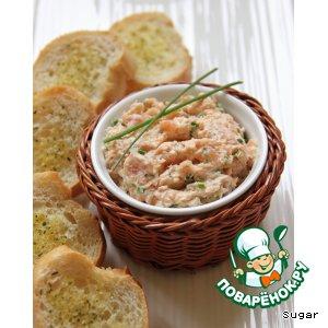 Рецепт Рийет из лосося
