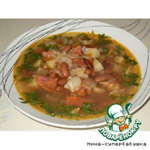 """Рецепт Sopa de pedra - """"Суп из камней"""""""