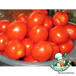 Рецепт Ароматные консервированные помидорки