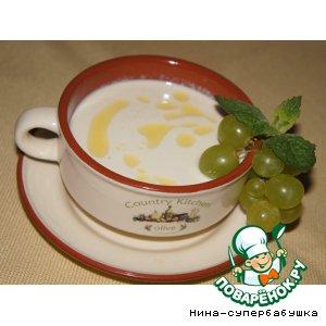 Рецепт Ахо бланко - холодный испанский миндальный суп