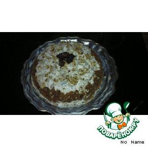 """Рецепт Торт """"Mедовая горка"""""""