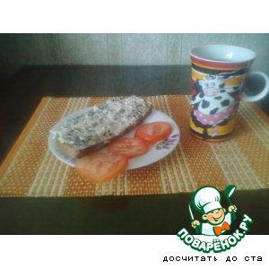 Рецепт Сырная масса  с грибами, чесноком и зеленью для бутербродов