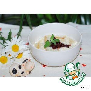 Рецепт Тюря молочная (детская)