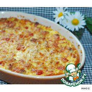 """Рецепт Картофельный пирог с мясом и овощами """"Покровка"""""""