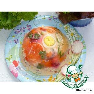Рецепт Овощи в желе