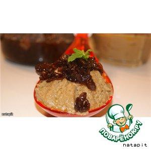 Рецепт Печeночный паштет с вареньем из лука