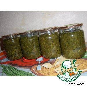 Рецепт: Щавель для зеленого борща