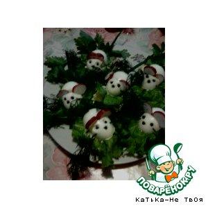 Мышки из вареных яиц простой рецепт с фотографиями пошагово