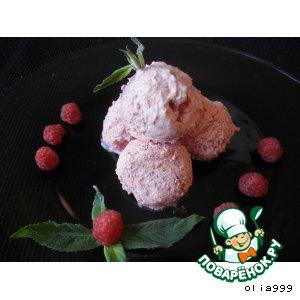 """Рецепт Воздушное мороженое """"Маскарпоне"""""""