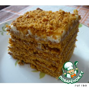 торт медовик рецепт с