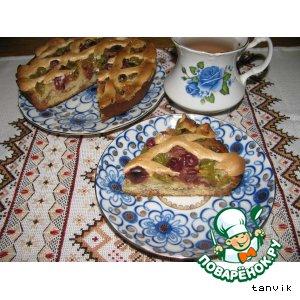 Рецепт Пирог из крыжовника