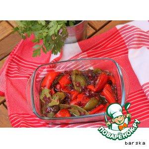 Рецепт Антипасти из болгарского перца