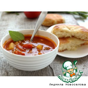 Рецепт Восточный суп из мясного фарша