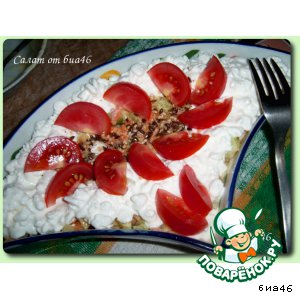 """Рецепт Салат от биа46 """"Сюрприз"""""""