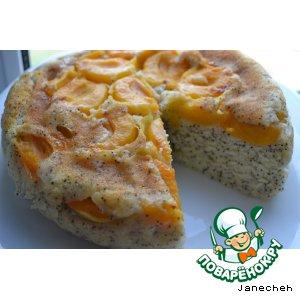 Рецепт Перевернутый торт с абрикосами