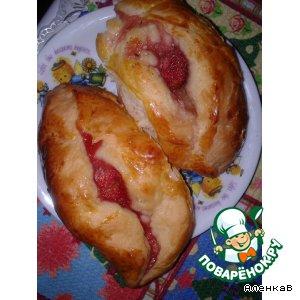 Рецепт Пирожки с клубникой