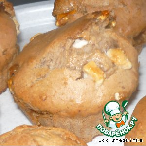 Как приготовить Шоколадные кексы с зефиром рецепт приготовления с фотографиями пошагово