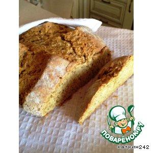 Рецепт Ирландский быстрый содовый хлеб с овсяными хлопьями