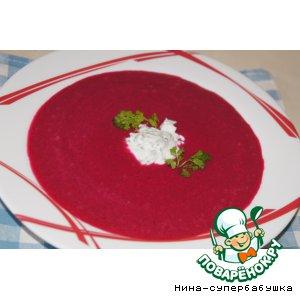 Рецепт Свекольный суп с кокосовым молоком