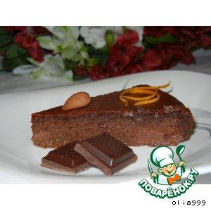 Рецепт Шоколадно-апельсиновый пирог