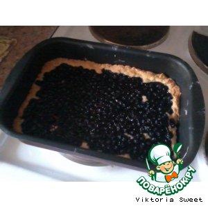 Черничный пирог домашний рецепт приготовления с фото пошагово готовим