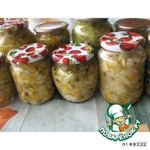 "Салат из овощей ""Летний"""