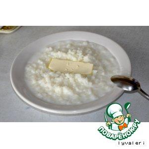 Рецепт Рисовая молочная каша