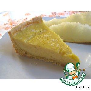 Рецепт Пирог с дынно-апельсиновым кремом