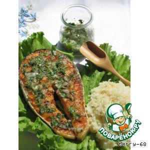 Рецепт Чесночно-лимонный соус к рыбе