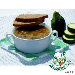 Рецепт Лeгкий дачный суп