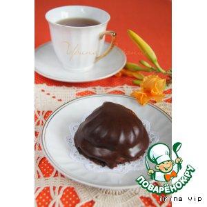 Рецепт Шоколадное пирожное с зефиром