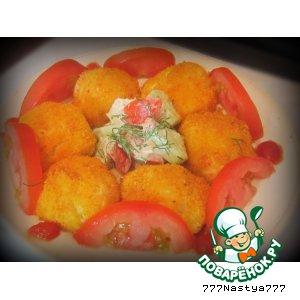 Готовим Картофельные шарики вкусный рецепт приготовления с фотографиями