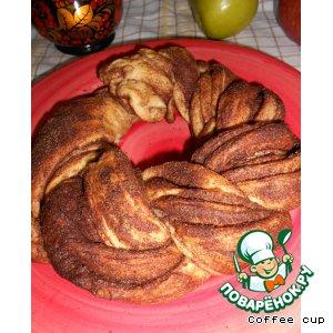 Рецепт Коса с корицей или сладкий хлеб